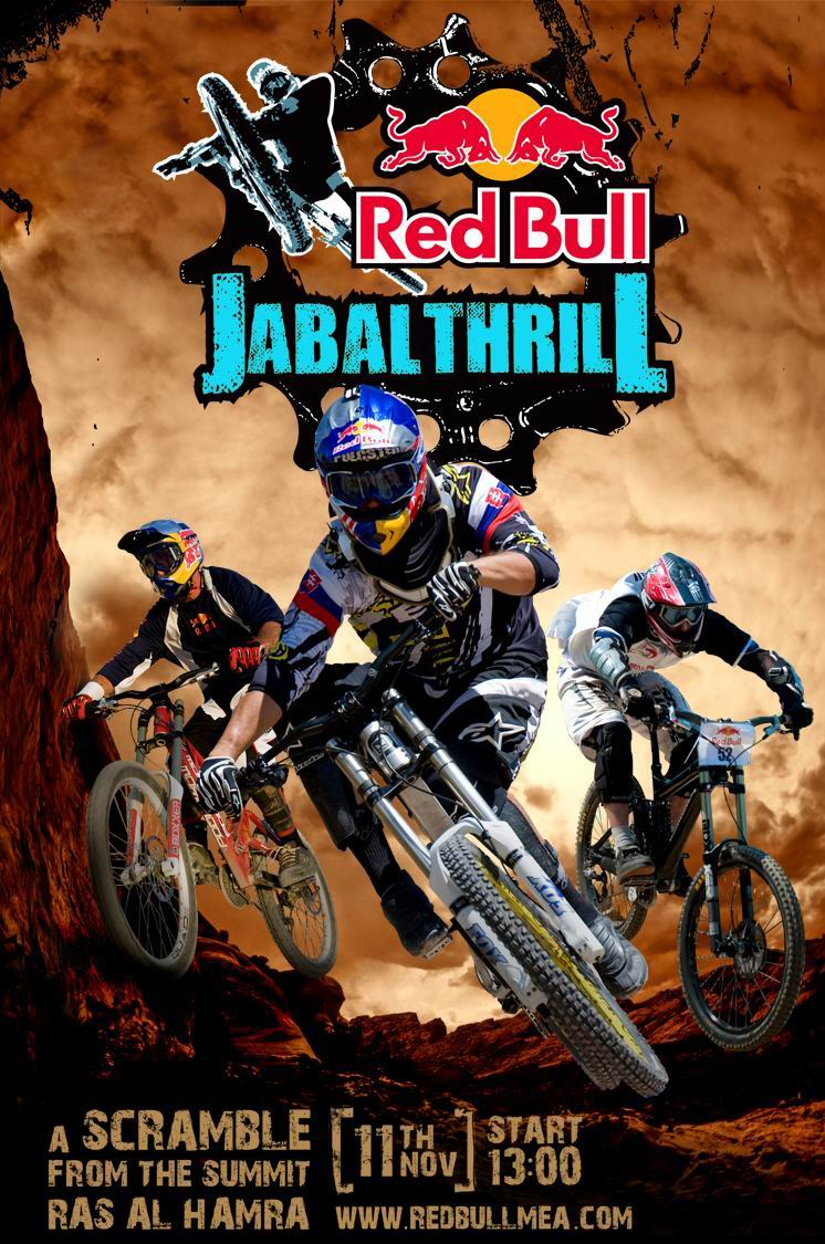 Jabal Thrill 1st Ever Downhill Race In Oman 11 11 2010
